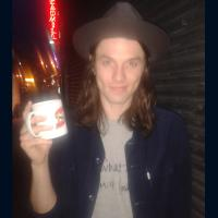 James Bay - English singer songwriter and guitarist. In 2014, he released his single Hold back the River